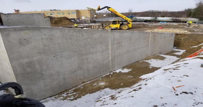 east wall foundation 2